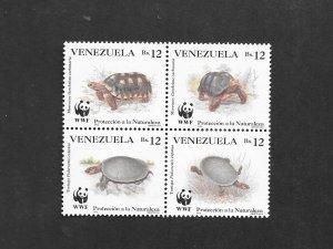 TURTLES - VENEZUELA #1471  WWF  MNH