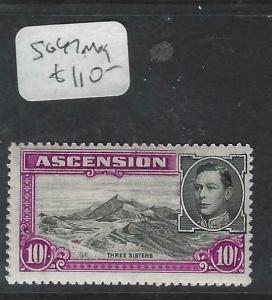 ASCENSION   (PP3103B)  KGVI  10/-   SG 47      MOG