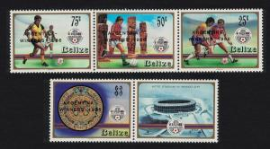 Belize World Cup Football Championship Winners 4v SG#945-948