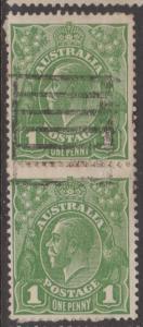 Australia KGV Sc#67 Used Pair