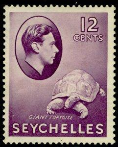 SEYCHELLES SG139, 12c reddish violet, M MINT. Cat £50.
