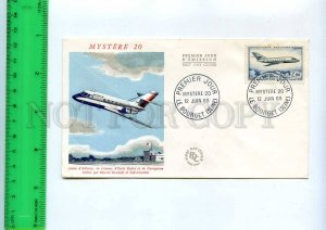 254789 FRANCE plane Radar Marcel AVIATION HISTORY 1965 y FDC