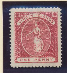 British Virgin Islands Stamp Scott #19, Mint Hinged - Free U.S. Shipping, Fre...