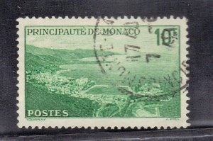 MONACO  SCOTT# 174   USED 1946  10fr    SEE SCAN
