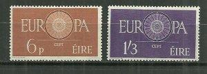 1960 Ireland Europa compl. set of 2 MLH