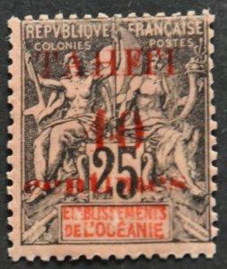 DYNAMITE Stamps: Tahiti Scott #30 – UNUSED