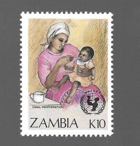 Zambia 1988 - MNH - Scott #443 *