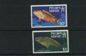 MPN8) Pitcairn Islands 1988 Fish MUH