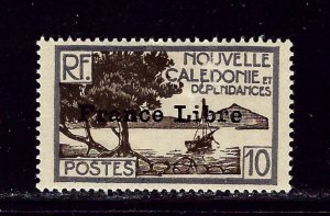 New Caledonia 222 MH 1941 Overprint   #2