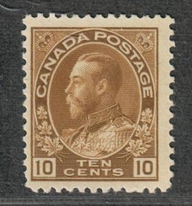 Canada Sc#118 M/NH/F-VF, Cv. $95