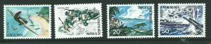 PAPUA NEW GUINEA SG117/20 1967 PACIFIC WAR MNH