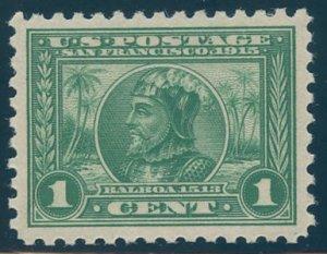 US Scott #401 Mint, XF/S, Hinged, PSE (Graded 95)