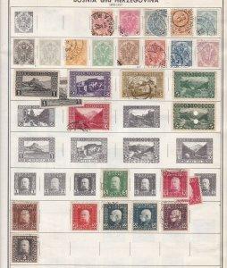 BOSNIA  &  HERZEGOVINA^^^^^1879-1917  Used CLASSICS  on page $$@  ha 2378xxbosco