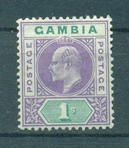 Gambia sc# 35 mh cat value $50.00