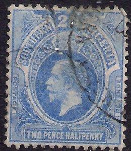 Southern Nigeria 1912 KGV 2 1/2d Bright Blue SG 48 ( L1059 )
