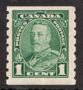 #228 - Canada - 1935 KGV Pictorial - 1c  - MNH - F - superfleas - cv$22