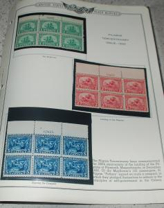 complete commerative plate block collection #537-997