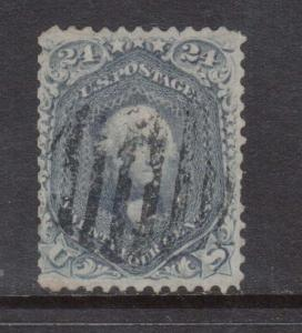 USA #70b Used **With Certificate**