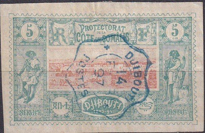 Somali Coast #9 Used CV $7.00  (Z9710)