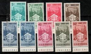 Venezuela Scott C338-46 Mint hinged (Catalog Value $58.25)