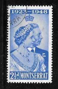 Montserrat 106: 2.5d King George VI and Queen Elizabeth, used, F-VF