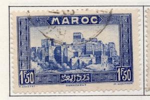 French Morocco 1933-40 Early Issue Fine Used 1F.50c. 138197
