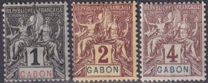 Gabon #16-8  F-VF Unused CV $6.25 (A19274)