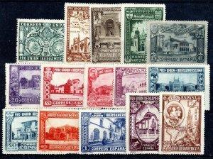 SPAIN Sc #436 - 447  MH  - 1930 SPANISH-AMERICAN UNION EXB.