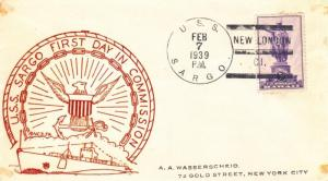 1939, USS Sargo SS-188, 1st Day Commission (N5228)