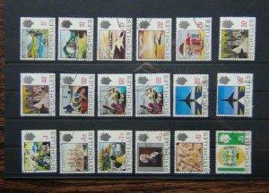 Seychelles 1969 - 1975 set to 15r Used SG262 - SG279