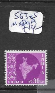 INDIA  (PP1702B)   SG 385A   MOG