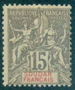 French Sudan #10  Mint  Scott $7.50