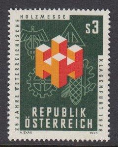 Austria 1039 Timber Fair mnh