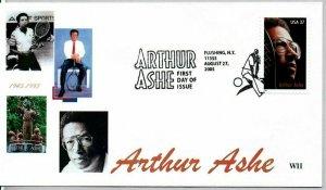 WII Colorprint 3936 Arthur Ashe Tennis Great Flushing NY