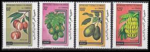 1979 Comores Islands 562-565 Fruit 5,50 €