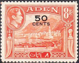 Aden #41  MH  HR