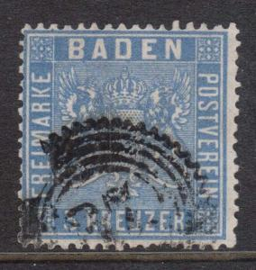 Baden #12a Used
