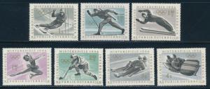 Austria - Innsbruck Olympic Games MNH Set #711-17 (1964)