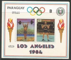 Paraguay Olympics SC 2136 MNH (2crk)