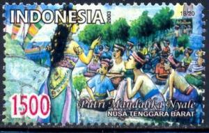 Folklore, Scene, Putri Mandalika Nyale, Indonesia SC#2022k