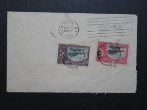 Trinidad 1941 Cover to New York - Z8713