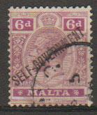 Malta SG 109 - George V  Used - opt Self Government