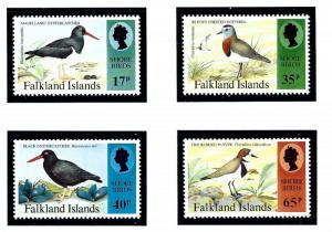 Falkland Is 630-33 MNH 1995 Shore Birds