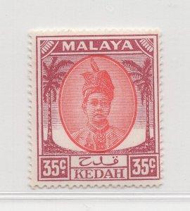 Malaya Kedah - 1950 - SG 85b - MH