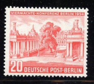 Berlin # 9N103, Mint Hinge. CV $ 7.00