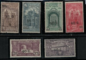 Portugal 1933 SC 543-548 MNH SCV $80.00 Set