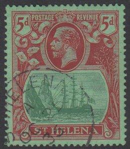 St. Helena 84 Used CV $6.75