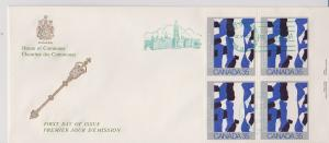CANADA FDC FROM HOUSE OF COMMONS STAMPS #889  LOT#M102