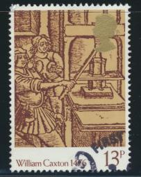 Great Britain  SG 1017 SC# 797 Used / FU with First Day Cancel - Printing