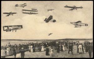 Germany 1912 Hamburg Flugwoche Message Flughafen Airport 5pf Germania Stam 70905